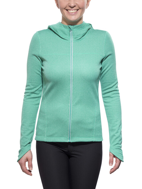 Prana Paisley Jacket Women sea green